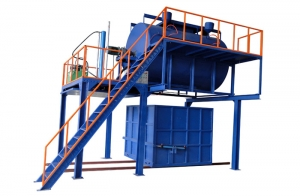 YA-RF 再生海绵发泡机(带蒸汽型)